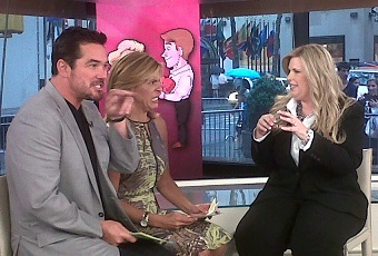 dean cain today show kat bacon